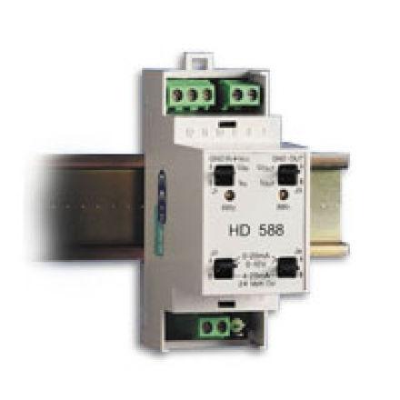Immagine di HD 588 Convertitore modulare di segnali a 3 vie per l'elaborazione di segnali analogici