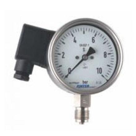 Immagine di Bourdon Tube Transmitter Pressure Gauge Type P1TM
