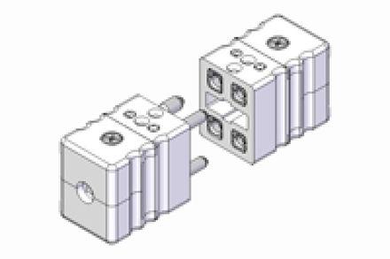 Immagine di Connettore Standard Doppio a Contatti Pieni