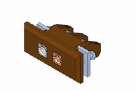 Immagine di Inserto da Panello Standard con Staffa di Fissaggio