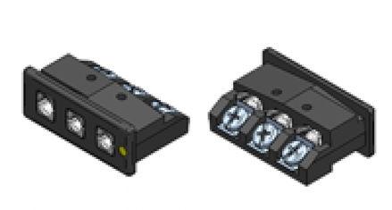 Immagine di Inserto da Pannello Standard a Tre Contatti Alta Temperatura