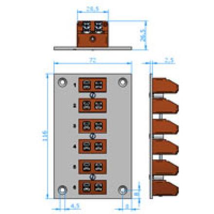 Immagine di Pannello Standard Verticale Alta Tempertura