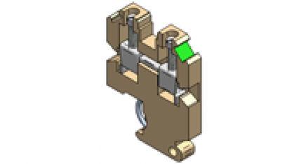 Immagine di Morsettiere con Montaggio su Binario